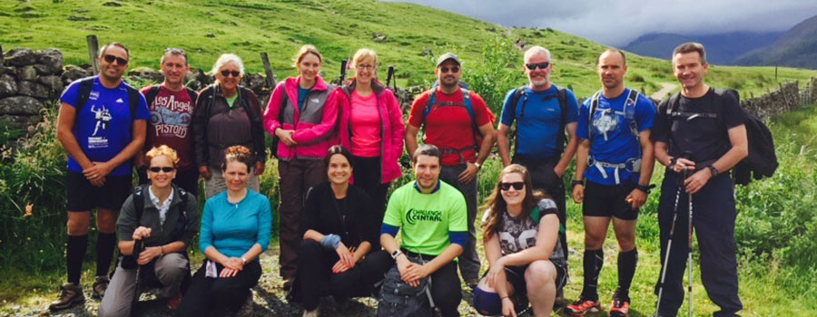 3 Peaks Challenge Group Photo