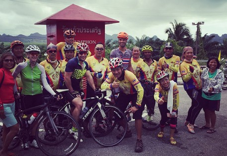 Bangkok to Phuket Cycle 2015