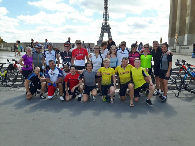 Day 3 - Tour Finish Line at Trocadero