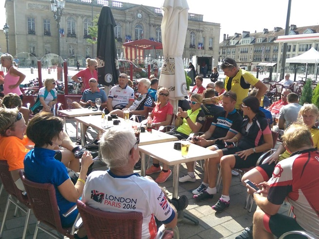 Day 2 - Rest Stop in Beauvais, France