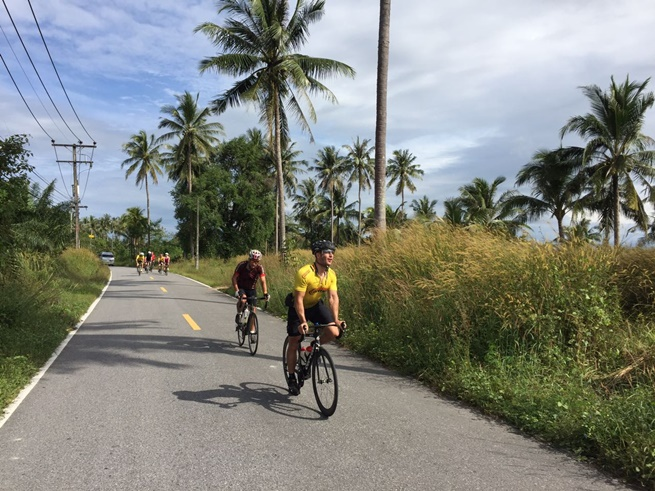 cycling to Phuket