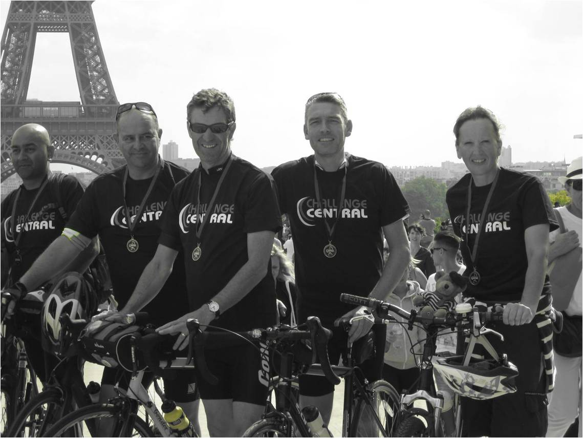 Day 3 - Cycling Finish at Trocadero
