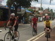 Cycling through Thailand