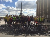 Group Cycle Paris Finish