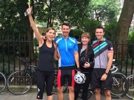 Day 1 - Pre-Cycle Group Photo, London