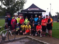 Pre- Cycle Group Photo