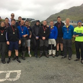 Group photo Snowdon