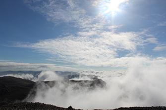 3 Peaks View from Ben Nevis
