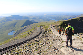 Mountain View from Snowdon
