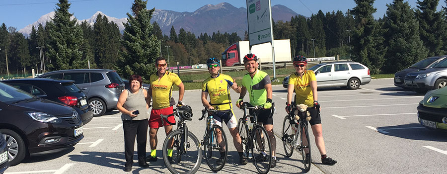 Slovenia to Croatia Cycle Ride